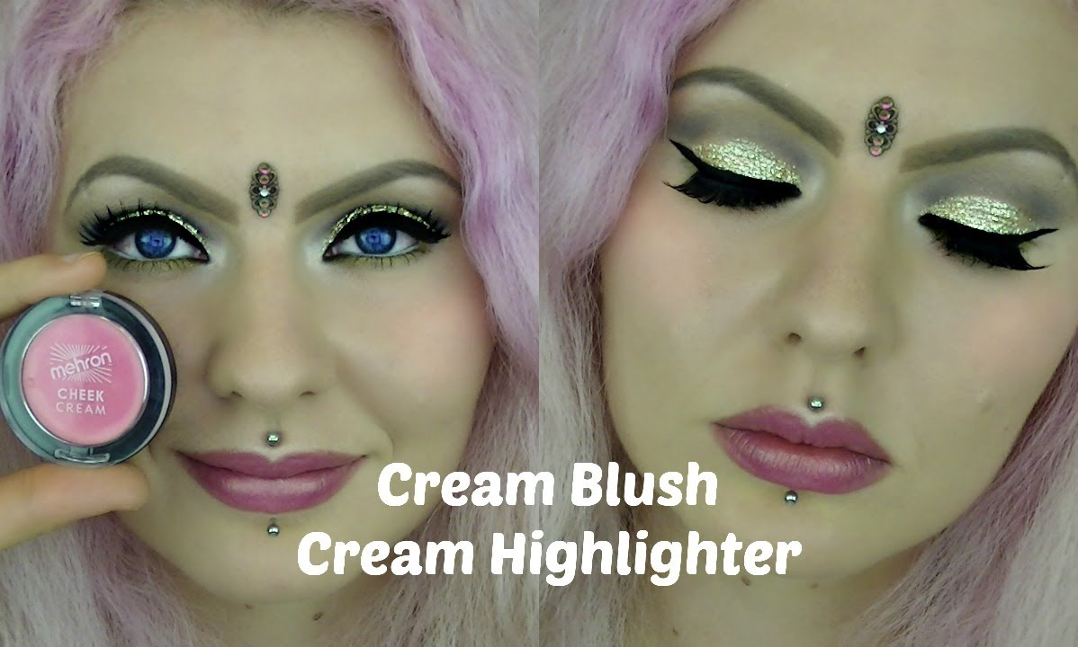How to Apply Cream Blush and Cream Highlighter (Cruelty-Free ...