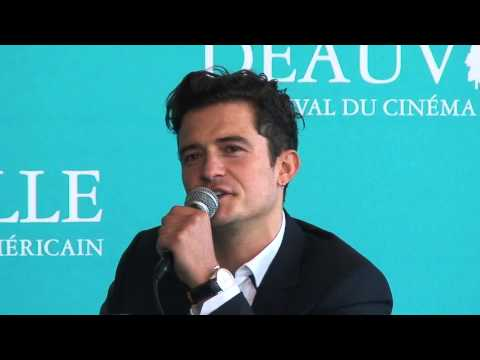 Conférence Deauville 2015 Orlando Bloom