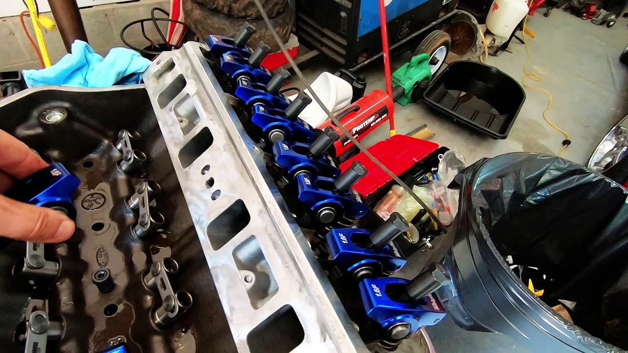SBF SB FORD 302 HO 351W CRANE CAM ROCKER ARM PUSHROD GUIDE PLATE CONVERSION KIT