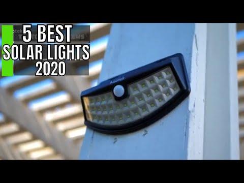 5 Best Solar Lights Outdoor 2020 Picks