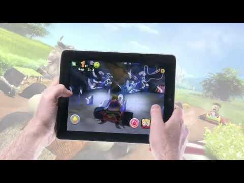 Shrek Kart  IPad Trailer By Gameloft