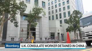 China Confirms U.K. Consulate Staffer Detained in Hong Kong