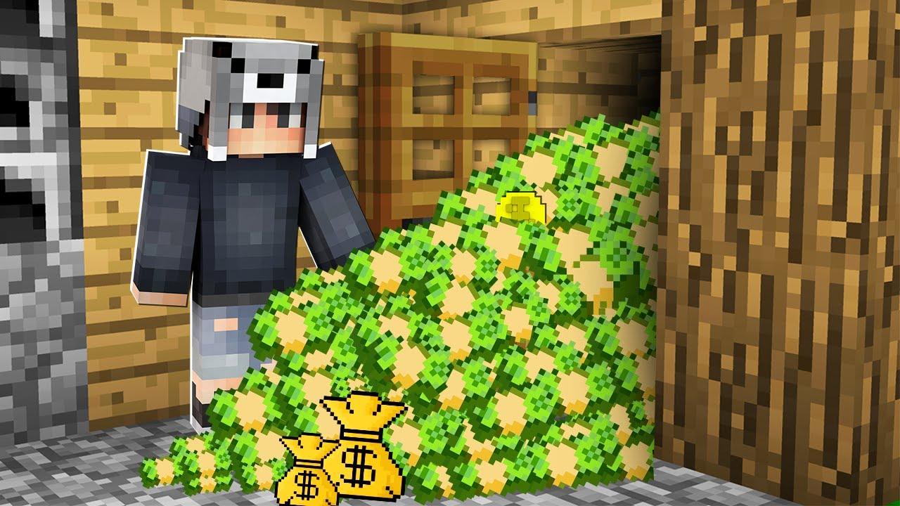 Download MİLYONER EVİME PARA BIRAKTI 🤑🏠 - Minecraft