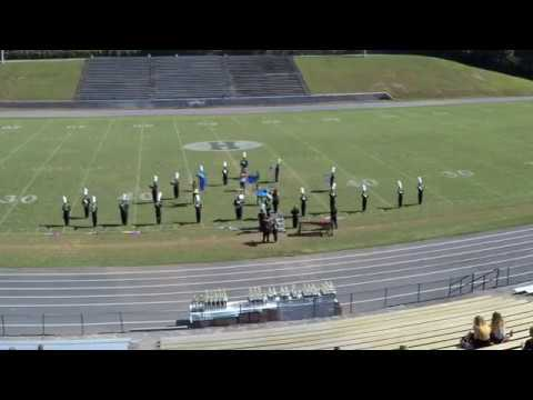 2018 Mud Creek Marching Festival: Phil Campbell High School Band