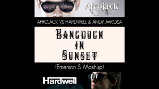 Afrojack vs Hardwell & Andy Avrosa - Bangduck in Sunset (Emerson S Mashup)