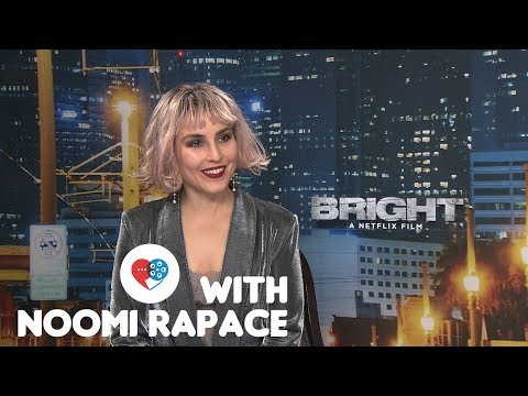 At the Movies x Bright: Noomi Rapace