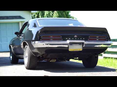 1969 Pontiac Firebird 350 With Pypes Street Pro Muffler