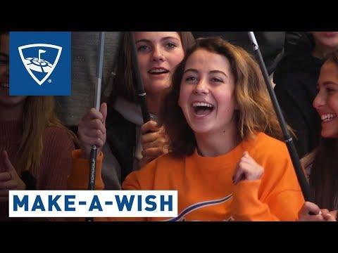 Make-A-Wish: Granting Sarah's Wish | Topgolf