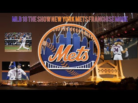 MLB 18 THE SHOW NEW YORK METS FRANCHISE MODE EP 4: PLAYOFF TIME!!