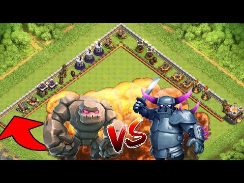 GOLEM vs PEKKA! || CLASH OF CLANS || Let's Play CoC [Deutsch German HD]