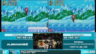 Sonic Advance by Combo_Blaze, kirbymastah in 18:50 - Summer Games Done Quick 2015 - Part 79
