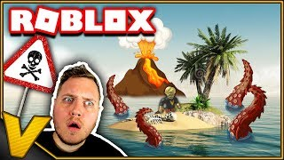 DO WE SURVIVE THE ATTACK ON THE ISLAND?! 🌋:: Cursed Islands Roblox English