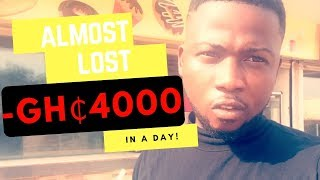 How I Accidentally Made GHS4,500 Profit Day Trading | Bank Lifestyle