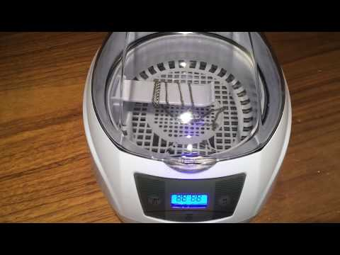 Review on Ultrasonic Cleaner  Charminer 750ml Jewelry Cleaner Machine 900s
