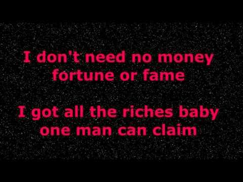 My Girl -  The Temptations - With Lyrics
