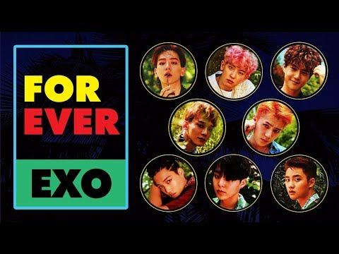EXO - Forever (Korean Version) [Lyric Video]