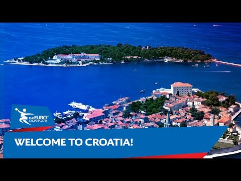 Welcome to Croatia | Men's EHF EURO 2018