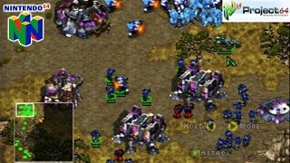 StarCraft 64 - Gameplay Nintendo 64 (Project 64)
