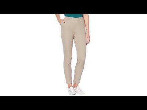 Lemon Way Flawless Twill PullOn Ankle Pant. http://bit.ly/31OCfjJ