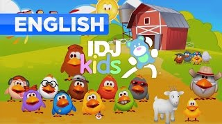 CHICKENS // CHICKENS ON A FARM // POPULAR VIDEO FOR KIDS // IDJKIDS (2015)