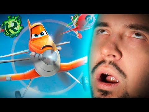 Помните как из Тачек сделали всрaтыe Самолеты?