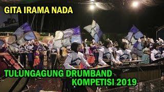 LUG Gita Irama Nada MTSN 1 Tulungagung Dalam Kompetisi Drumband Tulungagung 2019