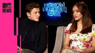 Ready Player One's Tye Sheridan & Olivia Cooke On the '10 Films Inside the Film' | MTV News