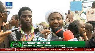 IMN Members Protest Continued Detention Of El-Zakzaky, Demand Release |News Across Nigeria|