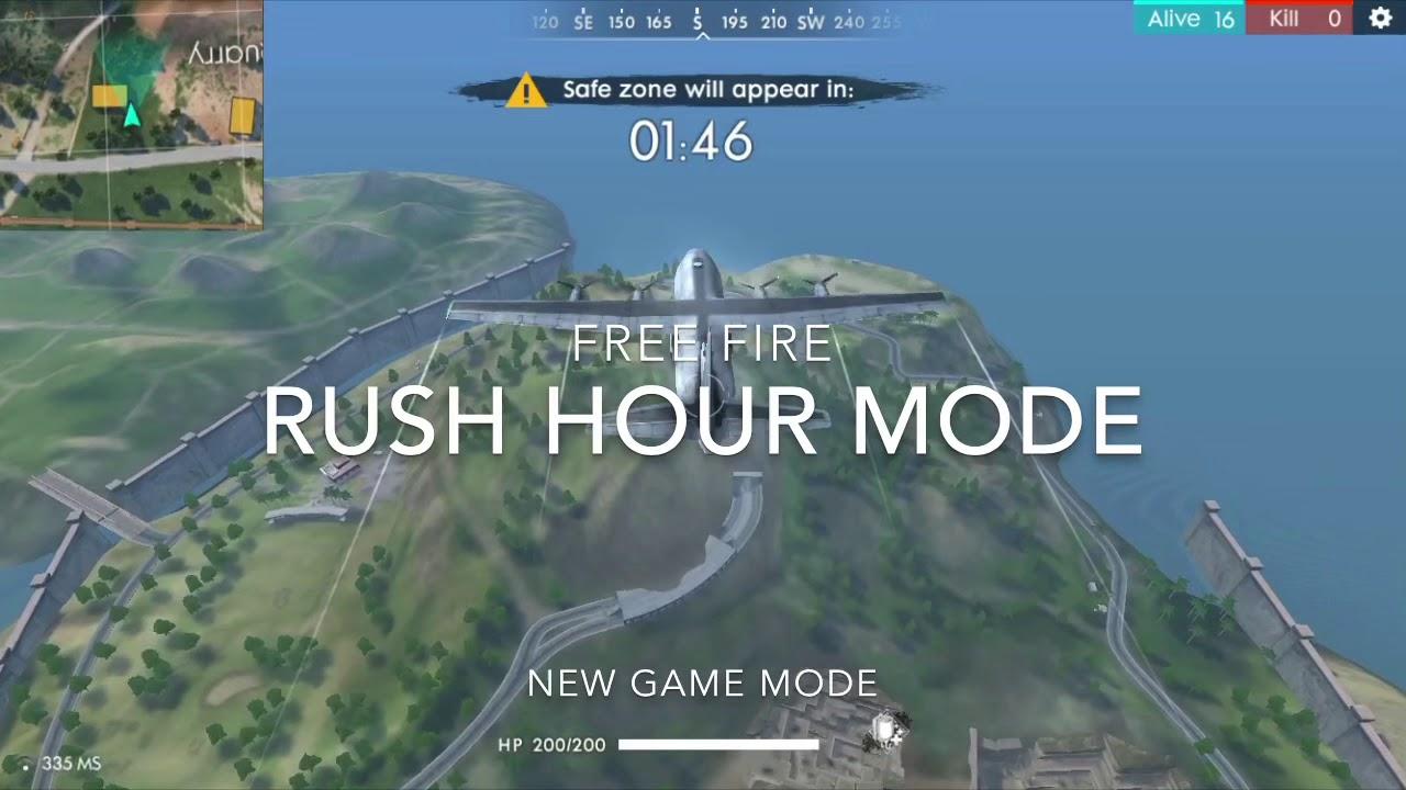 Freefire New Rush Hour Game Mode Youtube