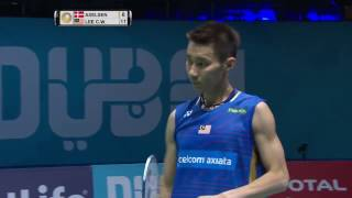 Dubai World Superseries Finals 2016 | Badminton QF M3-MS | Viktor Axelsen vs Lee Chong Wei