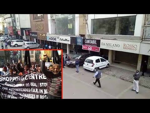 Watch: South Delhi markets remain shut as traders protest sealing drive