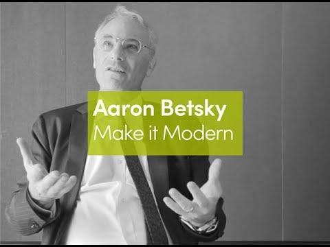 Aaron Betsky | Making it Modern