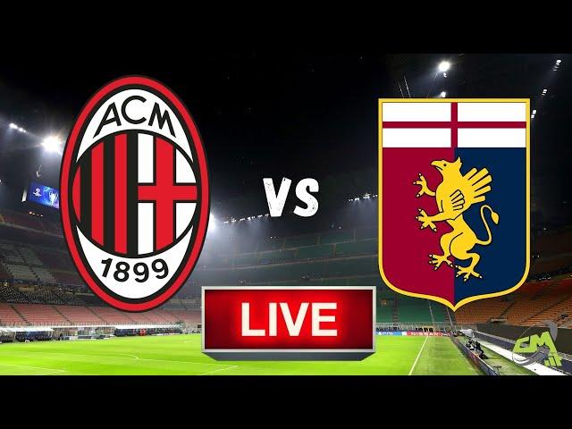 MILAN-GENOA LIVE! Cronaca in DIRETTA Serie A [NO Streaming]
