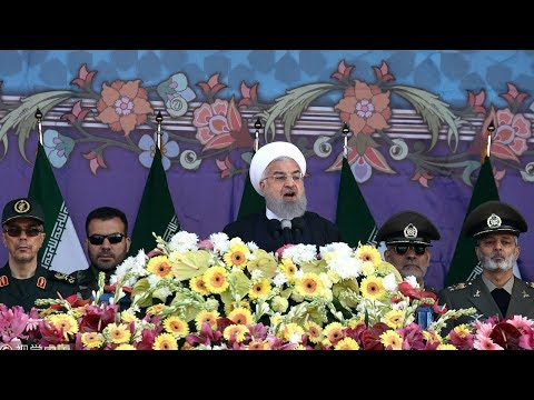 Iran criticizes air strikes against Syria by the West as it marks National Army Day