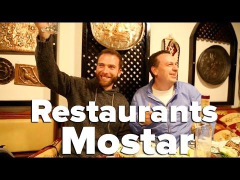 Top Restaurants in Mostar, Bosnia & Herzegovina