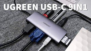 Đánh giá hub chuyển USB-C ra nhiều cổng của Ugreen: nhanh, đa năng, nóng