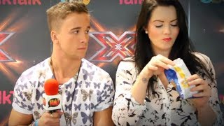 Sam Callahan talks about his muscles, naked contestants and Tamera | X Factor 2013