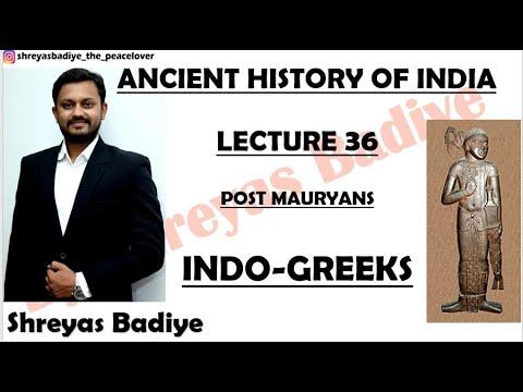 Indo Greek   Post Mauryas   Ancient History of India