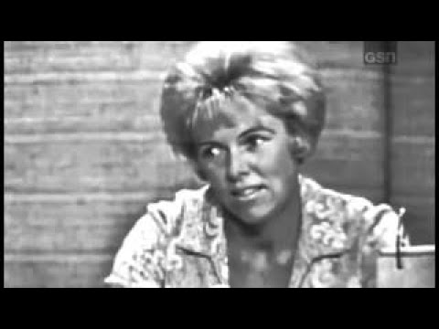 What's My Line?  Tallulah Bankhead; Martin Gabel panel Jun 6, 1965