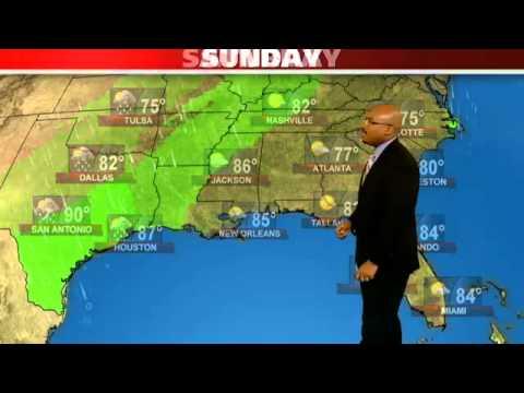 Houston S Weather Forecast Youtube