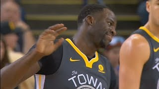 Draymond Green Waves Off Referee and Gets Technical Foul! Warriors vs Mavericks