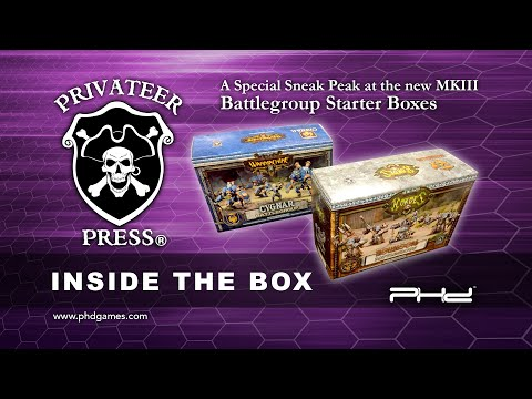 Privateer Press MKIII Sneak Peek with PHD