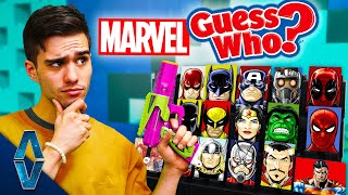 NERF Superhero Guess Who Challenge!