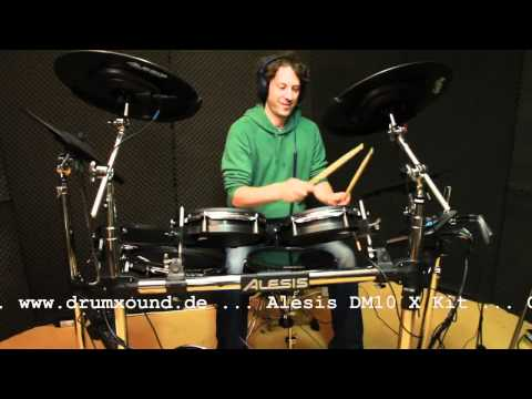 Alesis DM10  X Kit - www.drumxound.de