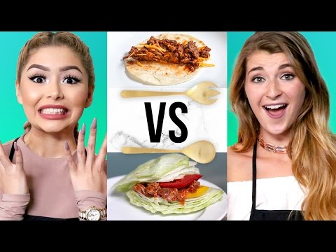 SLOPPY JOES CHALLENGE W/ Daisy Marquez & Katie Betzing | COOK THAT
