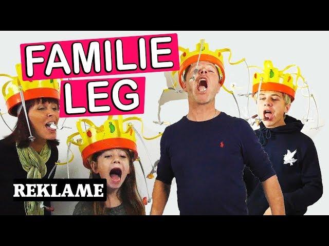 SJOVT FAMILIE SPIL MED FAMILIEN