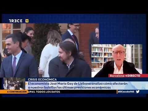 """""""EMPIEZO A CREER QUE EL GOBIERNO PRETENDE HUNDIR LA ECONOMÍA ESPAÑOLA"""" (Prof economista Ga"""