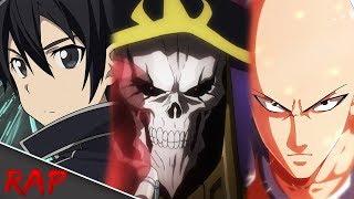 Rap dos Overpowers 2 | (Kirito, Saitama e Ains) | Grupo: 11 | Byakuran