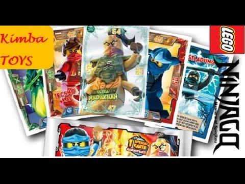 NINJAGO Battle Cards Game Collection LEGO #1 / Ninjago cartas coleccionables