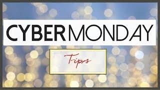 Top Ten Cyber Monday Shopping Tips 2017